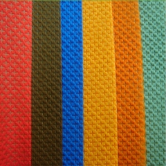 Cross nonwoven fabric for shoes interlining